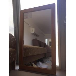 Fenyő keretes tükör