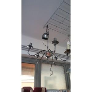 Modern,fém mennyezeti lámpa