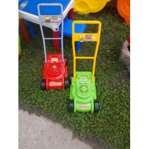 Gyerek műanyag játék fűnyíró