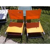 Narancssárga champing székek