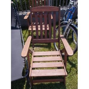 2 db kerti fa szék