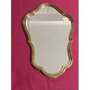 Tükör bronz színű keretben