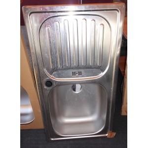 BLANCO 1mély csepegtetős mosogatótálca 43,5x78cm