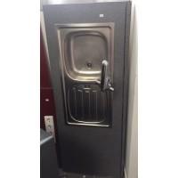 155cm Munkalap mosogatótálcával, csapteleppel