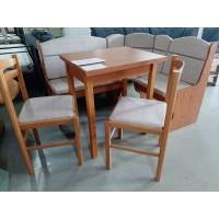 Új Ádám konyhai sarokülő asztallal és 2 db székkel