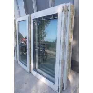 Műanyag  bukó-nyíló ablak 87x156
