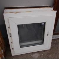 Bontott műanyag ablak (58x58)