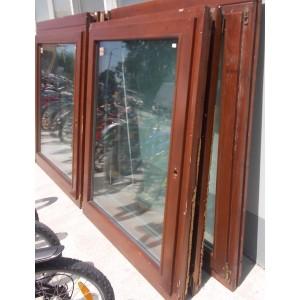 Bontott fa bukó-nyíló ablak 121x151