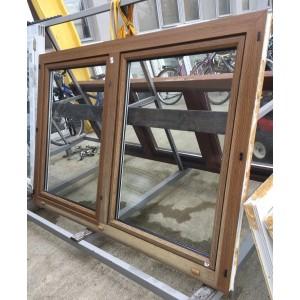 Bontott 2 szárnyú műanyag ablak(189x127)