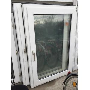 Műanyag bukó-nyíló ablak( 94x135)