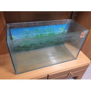 Hátterezett akvárium