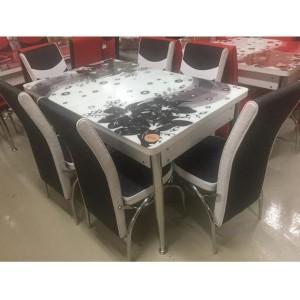 ÚJ 3D 6személyes étkezőgarnitúra bővíthető asztallal