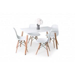 ÚJ Korvin modern 4 személyes étkezőgarnitúra
