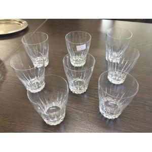 Nagyon szép nyolc darabos pohárkészlet