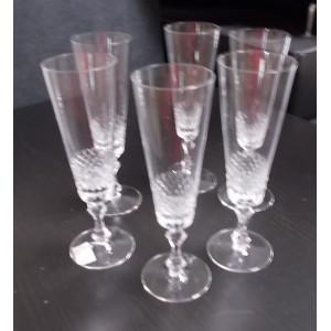 Pezsgős pohár 6db