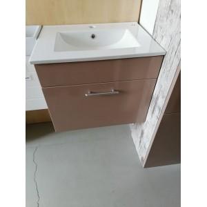 Új Fürdőszobai mosdószekrény kerámia mosdóval