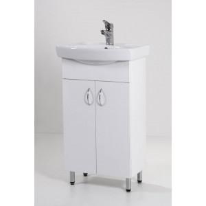 ÚJ Light 50 mosdós fürdőszoba szekrény