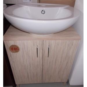 Fürdőszobai mosdós szekrény(sonoma)