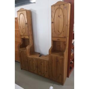 Fenyőfából készült , fürdőszoba szett