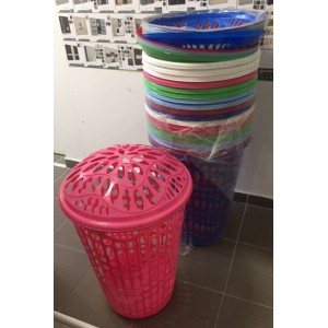 ÚJ fedeles szennyestartó kosarak több színben