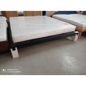 Franciaágykeret ágyráccsal