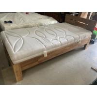 Fém heverőkeret matraccal