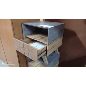 Bútorlapos modern éjjeliszekrények