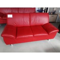 Piros bőr kanapé