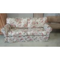 Virágmintás ágyazható kanapé