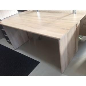 Sonoma színű számítógépasztal