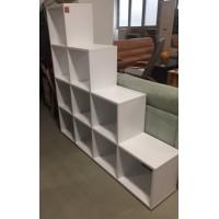 IKEA fehér piramis polc / térelválasztó