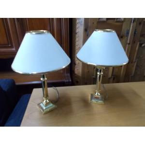 Üvegbúrás asztali éjjeli lámpa