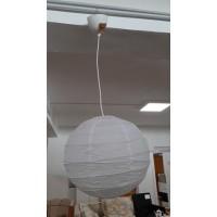 Regolit fehér rizspapír burás lámpa