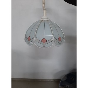 Festett üveglapos csillár