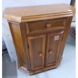 Tölgy antik kis szekrény