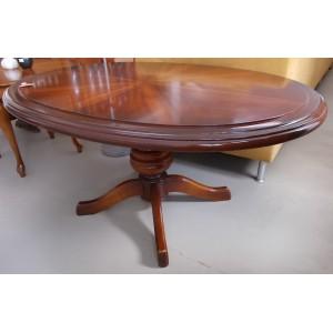 Szép elegáns Chippendale hatású ovális asztal