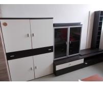 Modern kialakítású 4 elemes nappali szekrénysor