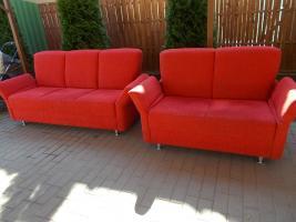 3+2 piros ülőgarnitúra - Kárai Használtcikk Püspökladány